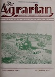 The Agrarian Vol. 3 No. 1 by Clemson University
