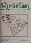The Agrarian Vol. 3 No. 2 by Clemson University