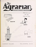 The Agrarian Vol. 21 No. 1