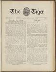 The Tiger Vol. III No. 1 - 1908-10-03