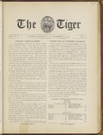 The Tiger Vol. III No. 5 - 1908-12-04