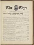 The Tiger Vol. III No. 7 - 1909-01-21