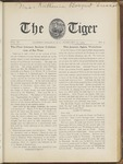 The Tiger Vol. III No. 9 - 1909-02-27