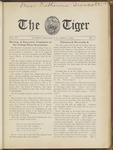 The Tiger Vol. III No. 11 - 1909-04-02