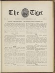 The Tiger Vol. III No. 12 - 1909-04-22