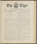 The Tiger Vol. V No. 3 - 1909-11-01