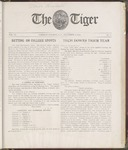 The Tiger Vol. VI No. 9 - 1910-12-08