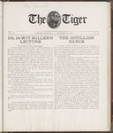 The Tiger Vol. VI No. 10 - 1910-12-13