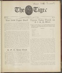 The Tiger Vol. VII No.23 - 1912-05-18