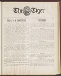 The Tiger Vol. VIII No.5 - 1912-11-15