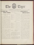 The Tiger Vol. X No. 20 - 1915-03-31