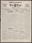 The Tiger Vol. XX No. 32 - 1925-03-17 by Clemson University