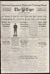 The Tiger Vol. XXIX No. 4 - 1934-10-04