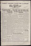 The Tiger Vol. XXIII No. 13 - 1928-01-11