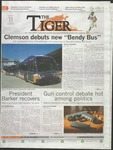 The Tiger Vol. 107 Issue 2 2013-01-25 by Clemson University