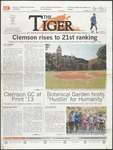 The Tiger Vol. 107 Issue 16 2013-09-20