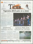 The Tiger Vol. 107 Issue 18 2013-10-04 by Clemson University