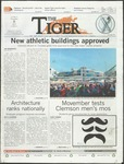 The Tiger Vol. 107 Issue 21 2013-11-08 by Clemson University