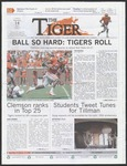 The Tiger Vol. 106 Issue 15 2012-09-14