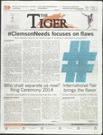 The Tiger Vol. 108 Issue 9 2014-04-04