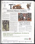 The Tiger Vol. 106 Issue 3 2011-09-16 by Clemson University