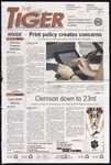 The Tiger Vol. 104 Issue 13 2010-08-27 by Clemson University