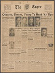 The Tiger Vol. XXXVIII No.16 - 1943-01-21 by Clemson University