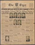 The Tiger Vol. XXXIX No. 16 - 1945-01-12