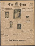 The Tiger Vol. XXXIX No. 19 - 1945-03-16