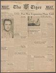 The Tiger Vol. XXXIX No. 26 - 1945-10-19 by Clemson University