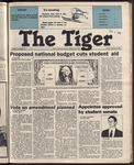 The Tiger Vol. 78 Issue 15 1985-02-08