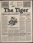 The Tiger Vol. 78 Issue 23 1985-04-12 by Clemson University