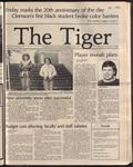 The Tiger Vol. 76 Issue 15 1983-01-27