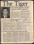 The Tiger Vol. 76 Issue 10 1982-10-21