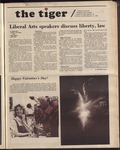 The Tiger Vol. 74 Issue 19 1981-02-12 by Clemson University
