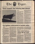 The Tiger Vol. 75 Issue 8 1981-10-08