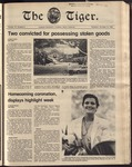 The Tiger Vol. 75 Issue 9 1981-10-15