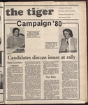 The Tiger Vol. 73 Issue 20 1980-02-29
