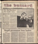 The Buzzard Vol. 72 Issue 1 1979-03-16