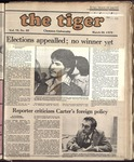 The Tiger Vol. 72 Issue 22 1979-03-30
