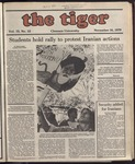 The Tiger Vol. 73 Issue 12 1979-11-16