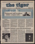 The Tiger Vol. 72 Issue 3 1978-09-08