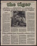 The Tiger Vol. 72 Issue 8 1978-10-13