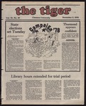 The Tiger Vol. 72 Issue 10 1978-11-03