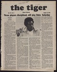 The Tiger Vol. 70 Issue 8 1976-10-15