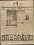 The Tiger Vol. XLIII No. 15 - 1950-02-09