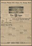 The Tiger Vol. L No. 9 - 1956-12-06 by Clemson University