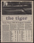 The Tiger Vol. LXVIII No. 24 - 1975-04-04