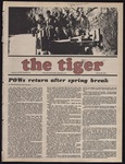 The Tiger Vol. LXVII No. 24 - 1974-03-29