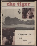 The Tiger Vol. LXVIII No. 1 - 1974-08-23 by Clemson University